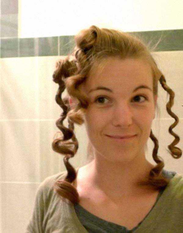 Кудри с помощью закручивания волос: фото 2