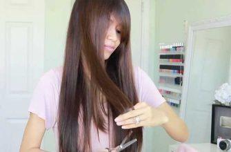 Как обрезать волосы лесенкой самостоятельно