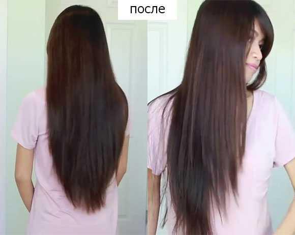Подстричь длинные волосы лесенкой