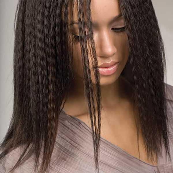 Гофрирование всех волос